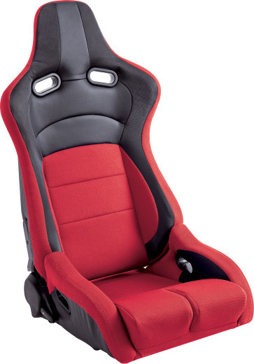 Universal Sport Racing Seats , Red Leather Racing Seats 95X71X55 Measurement